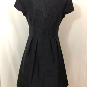 Nanette Lepore Dresses - Nanette Lepore Fit & Flare Black Dress Womens 8